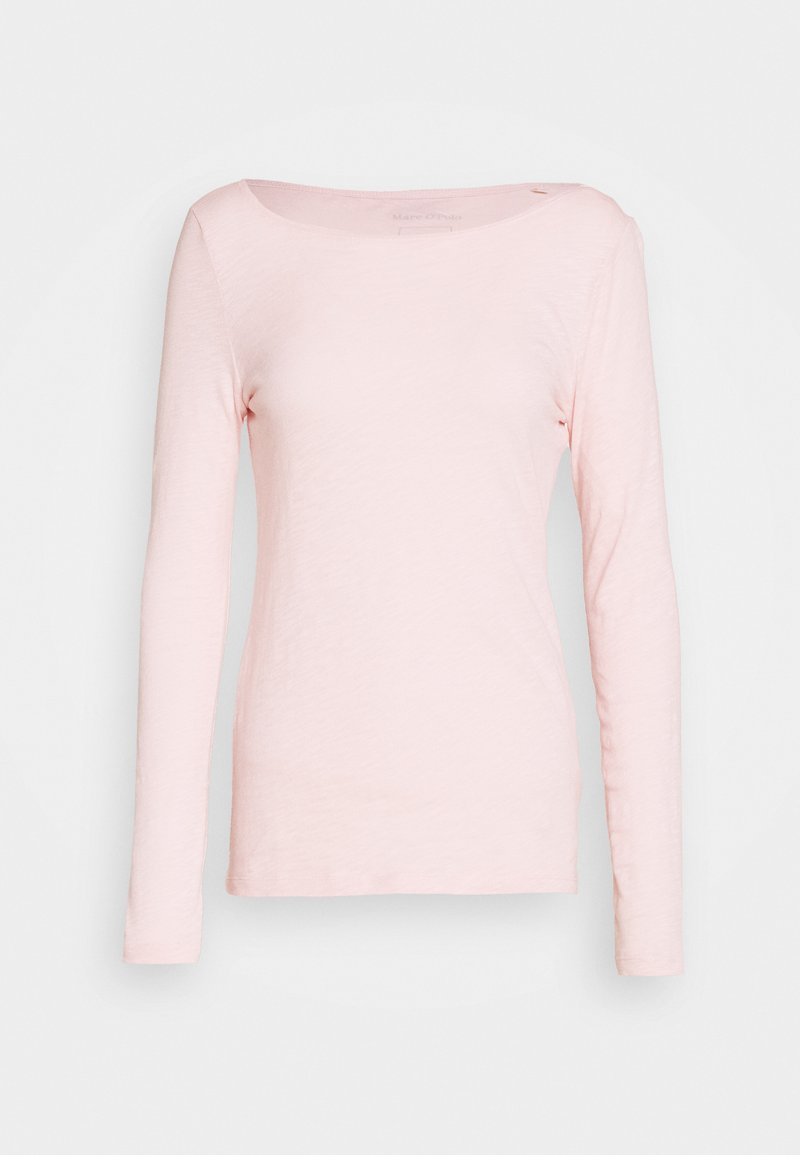 Marc O'Polo LONG SLEEVE BOAT NECK - Langarmshirt - rose cream/rosa oxA9eZ