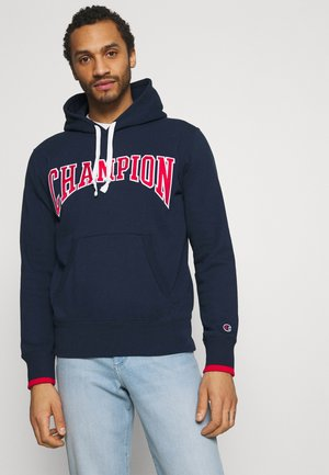 HOODED - Sweatshirt - dark blue