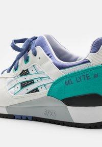 ASICS SportStyle - GEL-LYTE III UNISEX - Trainers - white/blue - 7