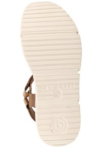 Bugatti - Sandalias con plataforma - cognac - 5