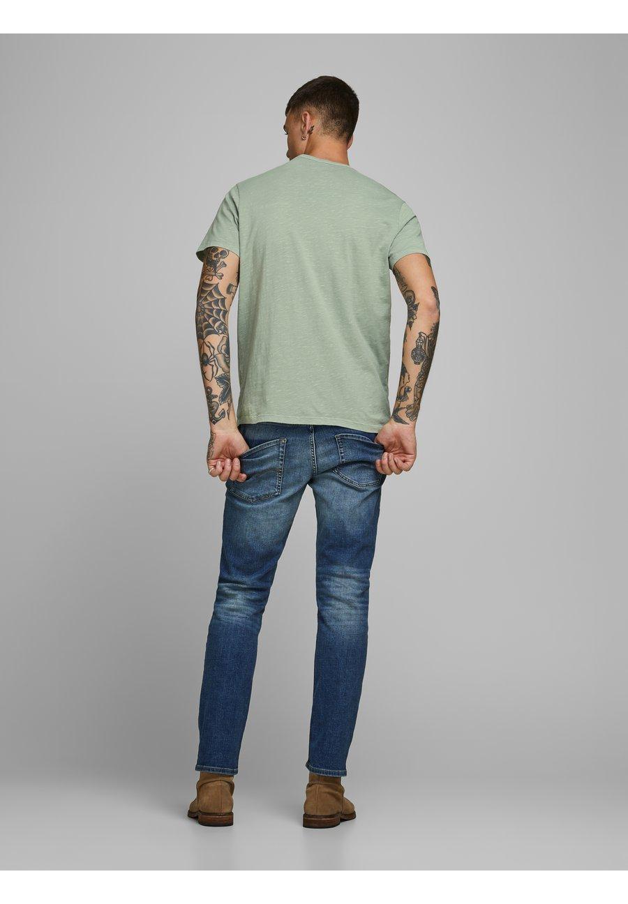Jack & Jones Basic T-shirt - green milieu 0PkSz