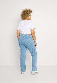 Levi's® Plus - 724 STRAIGHT - Straight leg jeans - rio aura - 2