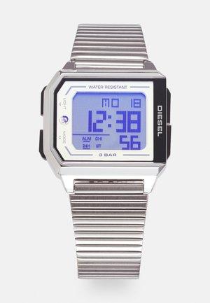 CHOPPED UNISEX - Reloj digital - silver-coloured