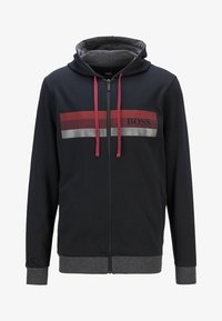 BOSS - AUTHENTIC  - veste en sweat zippée - black - 4