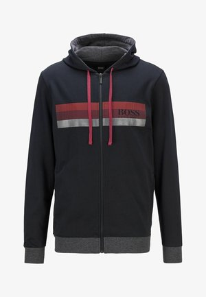 AUTHENTIC  - veste en sweat zippée - black