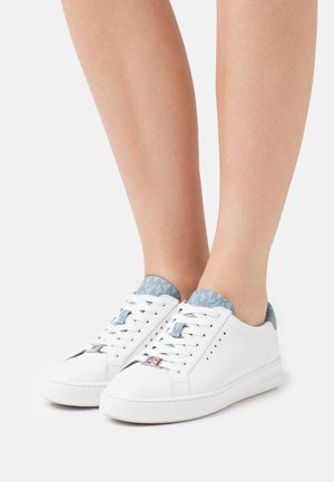 IRVING LACE UP - Zapatillas - optic white/pale blue
