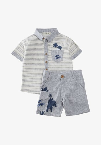 SET - Shorts - blue-grey