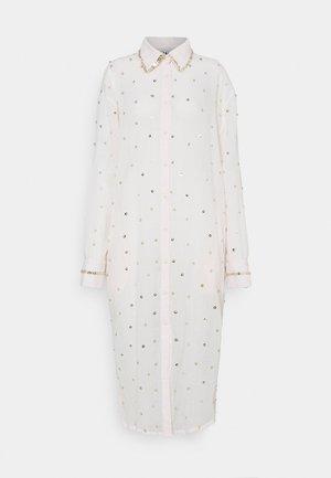 SEREN SHIRT DRESS - Shirt dress - ecru/gold