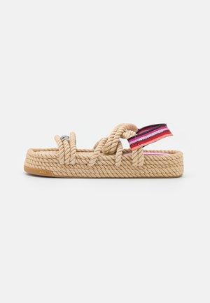 RAPALLA  - Platform sandals - beige