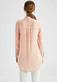 DeFacto - Button-down blouse - pink - 2