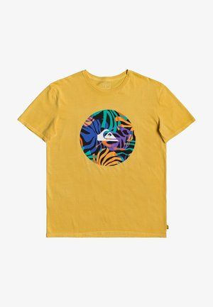 FAST TIMES  - Print T-shirt - misted yellow