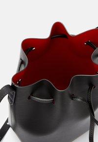 Mansur Gavriel - MINI BUCKET - Across body bag - black/flamma - 7