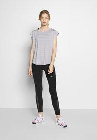 Even&Odd active - Print T-shirt - grey - 1