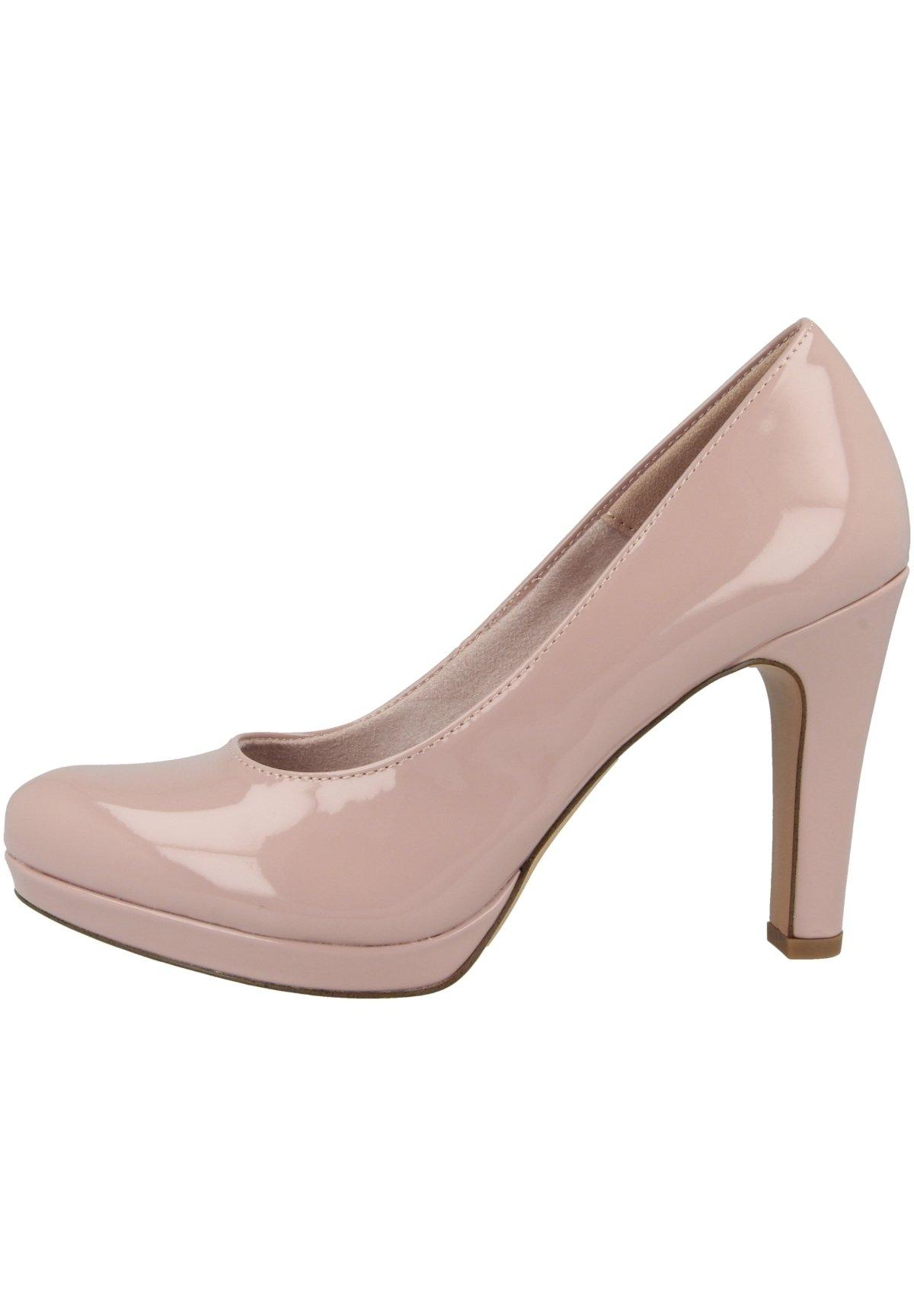 Damen High Heel Pumps - rose patent