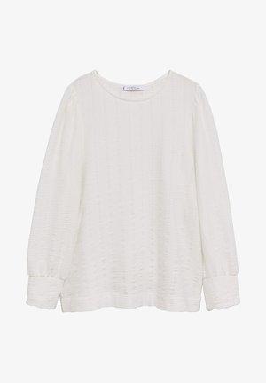 NINA - Long sleeved top - cremeweiß