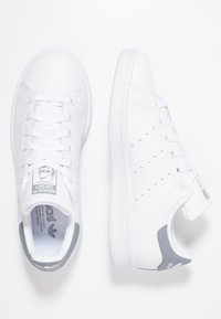 adidas Originals - STAN SMITH - Baskets basses - footwear white/grey - 1