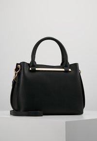 Dorothy Perkins - BAR MINI TOTE - Handbag - black - 0