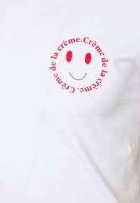 Les Petits Basics - CRÈME DE LA CRÈME UNISEX - Print T-shirt - white - 2