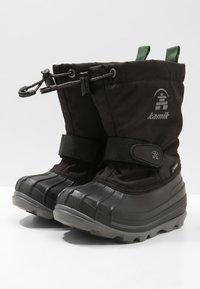 Kamik - WATERBUG - Winter boots - black - 2