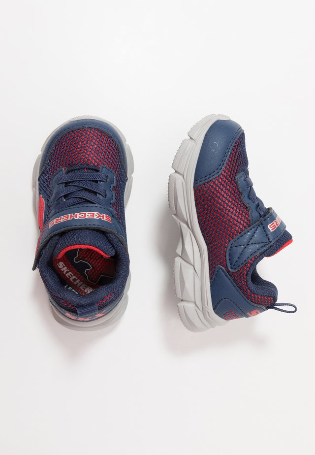 ADVANCE - Sneakers laag - navy/red textile