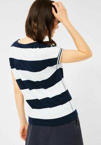 Cecil - STREIFEN MUSTER - Print T-shirt - blau - 2
