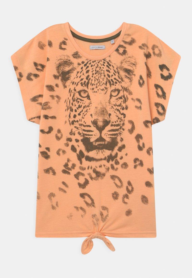 Lemon Beret - TEEN GIRLS - Print T-shirt - prairie sunset