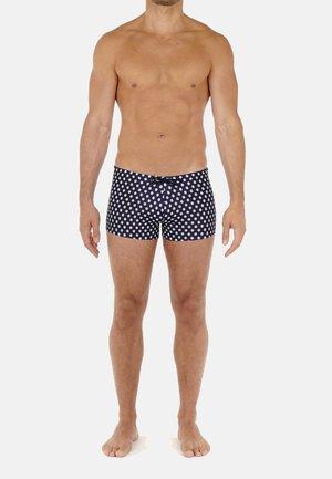 GORDES - Swimming trunks - navy print