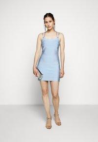 Hervé Léger - CRYSTAL DRESS - Sukienka koktajlowa - sky blue - 1