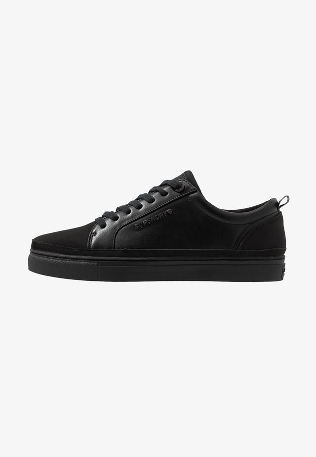 TRUMAN LACE UP - Baskets basses - black