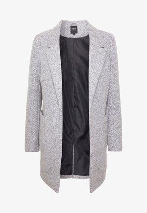 ONLBAKER EBBA COATIGAN - Krátký kabát - medium grey melange