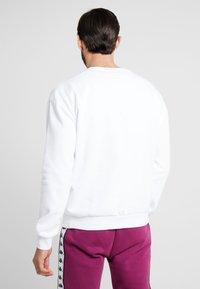 Kappa - VESLANN - Sweatshirt - bright white - 2