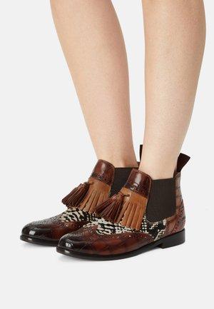SELINA 5 - Kotníkové boty na platformě - multicolour