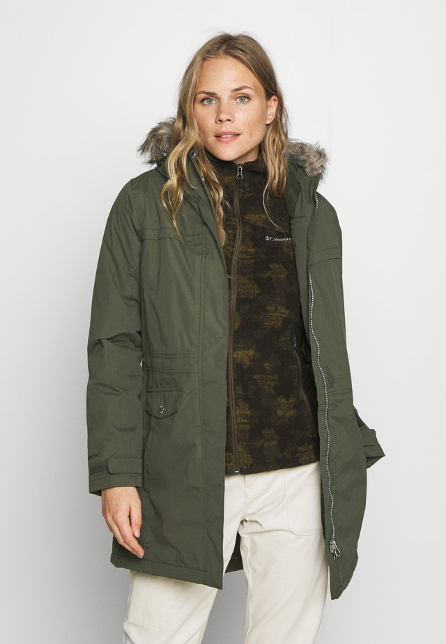 SERLEENA - Winter coat - dark khaki