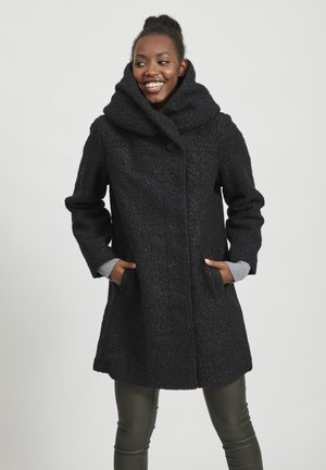 VIMALLY CAMA NEW COAT - Kappa / rock - black