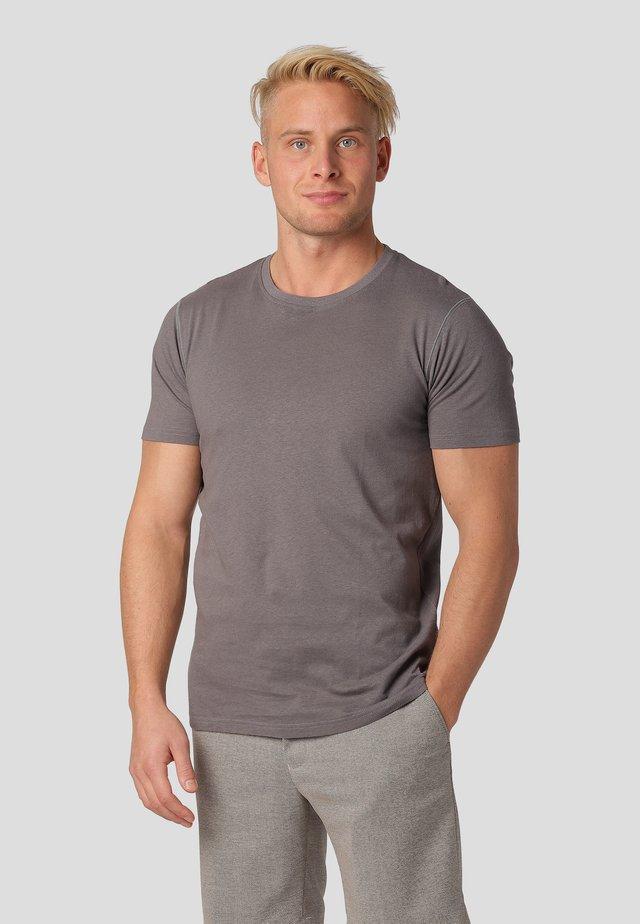 TUSCANY - Basic T-shirt - magnet grey