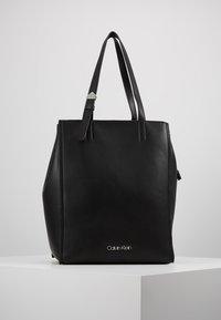 Calvin Klein - MELLOW TOTE - Handbag - black - 0