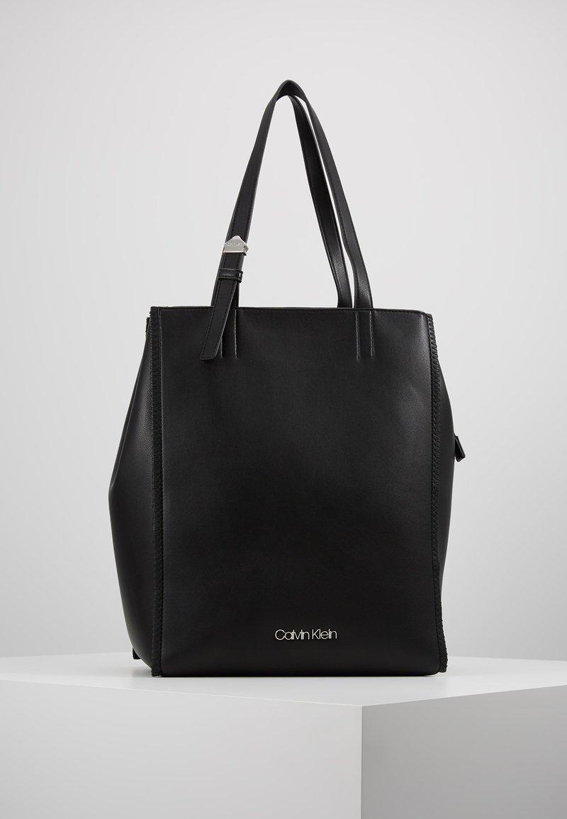 Calvin Klein - MELLOW TOTE - Handbag - black