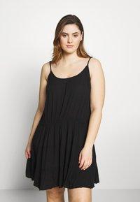 Simply Be - VALUE BEACH DRESSES  2 PACK  - Doplňky na pláž - white/black - 3