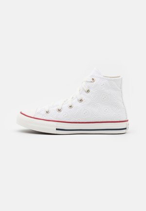 CHUCK TAYLOR ALL STAR UNISEX - Sneakersy wysokie - white/vintage white/multicolor