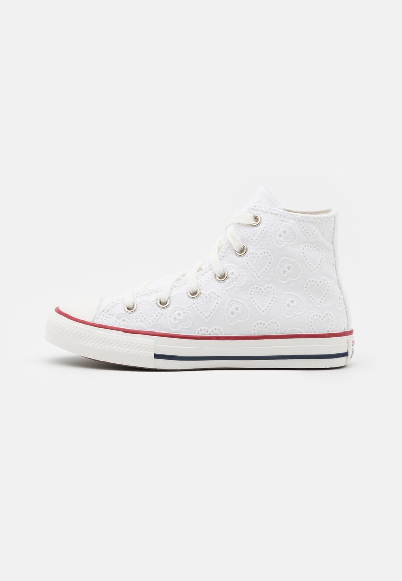 Converse - CHUCK TAYLOR ALL STAR UNISEX - Sneakersy wysokie - white/vintage white/multicolor
