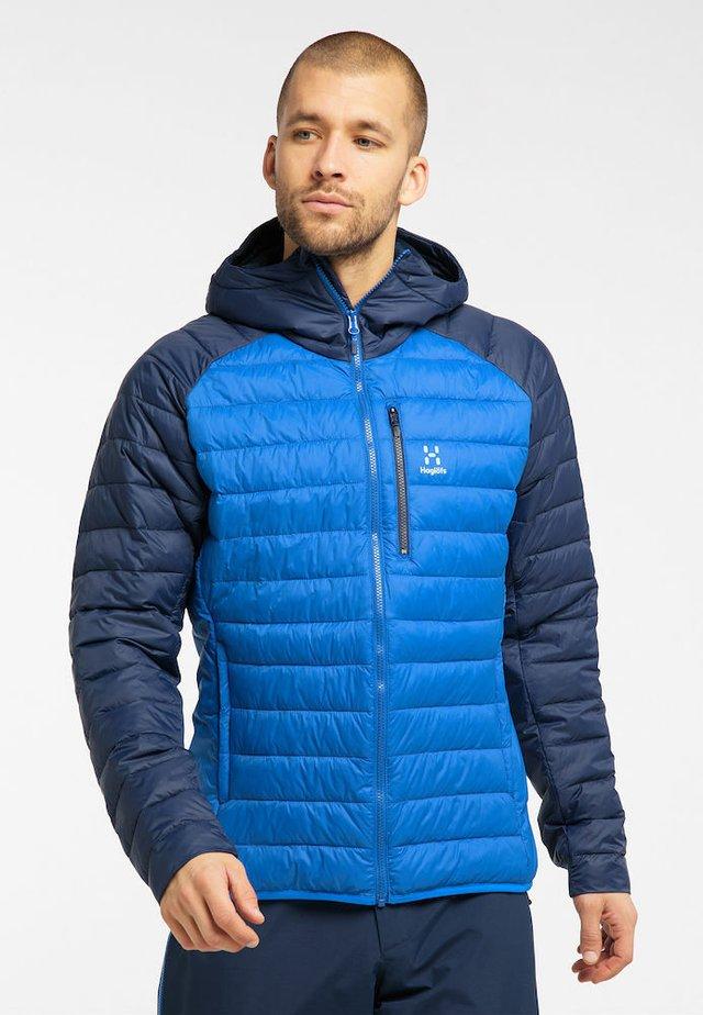 SPIRE MIMIC HOOD  - Winter jacket - storm blue/tarn blue