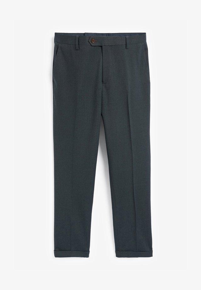 Oblekové kalhoty - green
