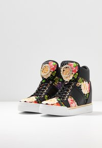 Guess - FREETA - Sneakersy wysokie - multicolor - 4
