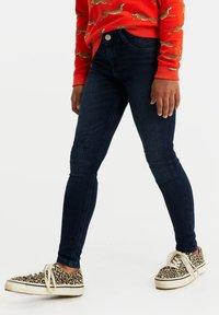 WE Fashion - MEISJES - Jeans Skinny Fit - dark blue - 1