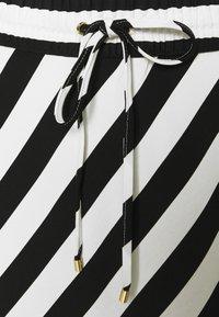 Lauren Ralph Lauren - HANIF SKIRT - A-line skirt - white/black - 2
