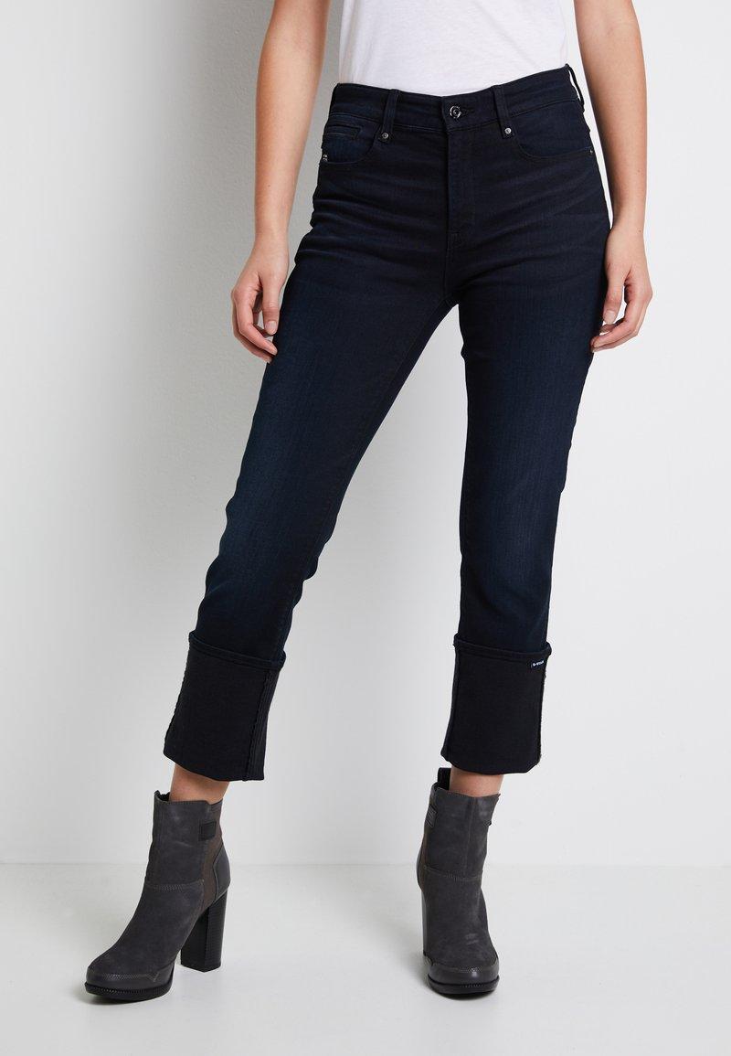 G-Star - NOXER STRAIGHT - Straight leg jeans - worn in blue storm