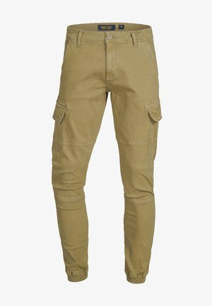 AUGUST - Cargo trousers - camel