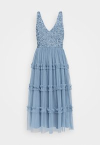 Lace & Beads - MARYAM MIDI - Cocktail dress / Party dress - dusty blue - 5