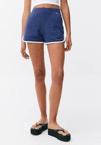 PULL&BEAR - Shorts - dark blue - 0
