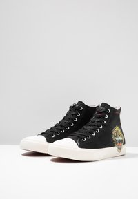Ed Hardy - FIERCE TOP - Sneakers high - black - 2